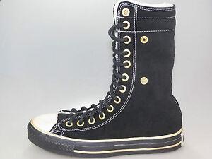 1q075 Taylor Nuevos Knee tamaños As Converse Hi Chuck Negro diferentes HXqnf