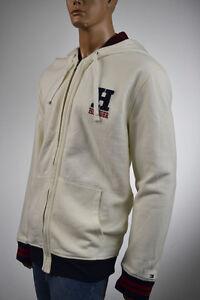 NWT Men/'s Tommy Hilfiger Fleece Sweater Jacket Hoodie Hooded Reg $130