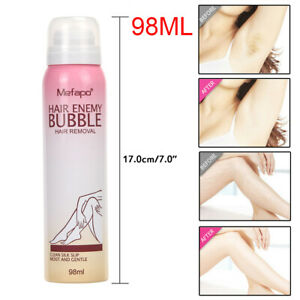 Mefapo Depilatory Bubble Spray Wipe Hair Removal Spray Hair