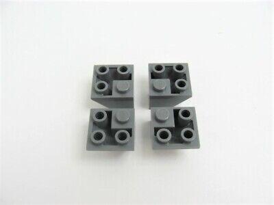 4x LEGO Black Slope Inverted 45 2 x 2 Double Convex 6080 6280 6086 60731 #3676