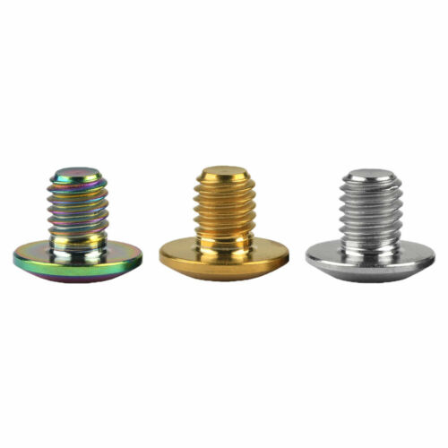 Details about  /titanium ti M5x6mm screws for shimano xt brake handle bicycle oil cover screws