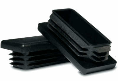 "1 3//8/"" Black Plastic Blanking End Caps Inserts Plug Round Tube Insert 2-35mm"