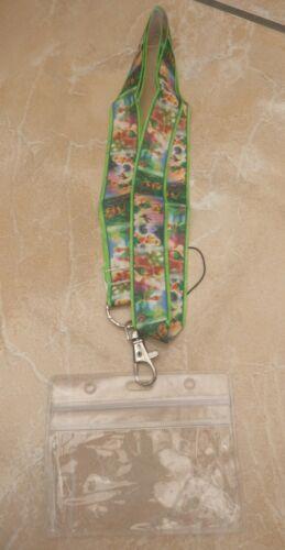 Waterproof ticket holder Disney/'s Tinkerbell Lanyard for Pin Trading inc