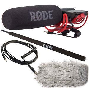 Rode-Videomic-Rycote-Deadcat-Windschutz-Micro-Boompole-VC1-Kabel