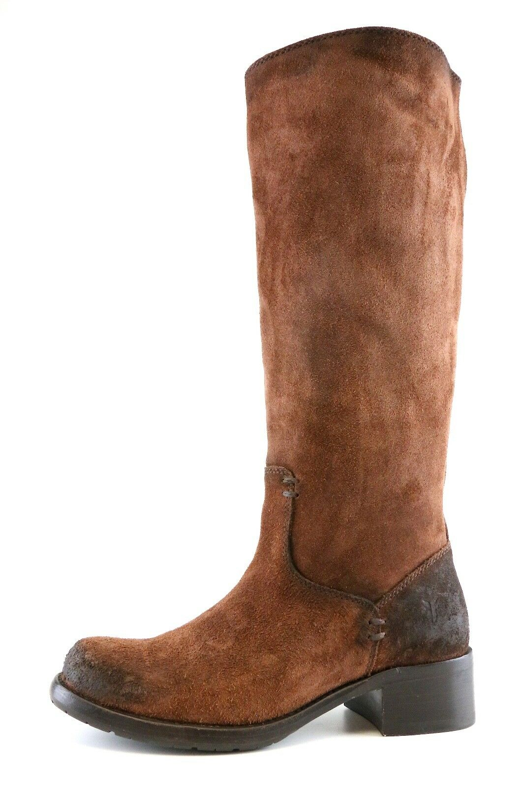 FRYE FRYE FRYE Elena Pull On Suede Boots Brown Women Sz 7 B 6777  149c25