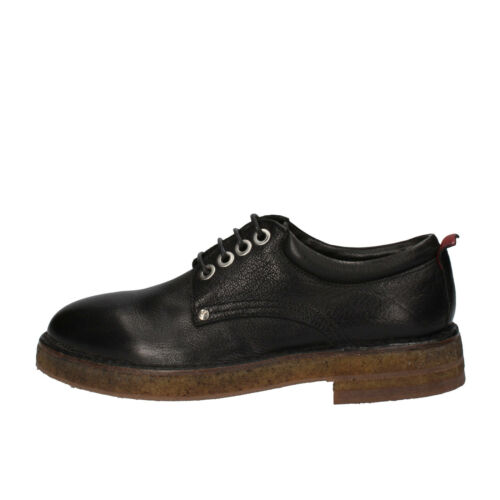 women's shoes MOMA 3,5 EU 36,5 elegant black leather AE334E