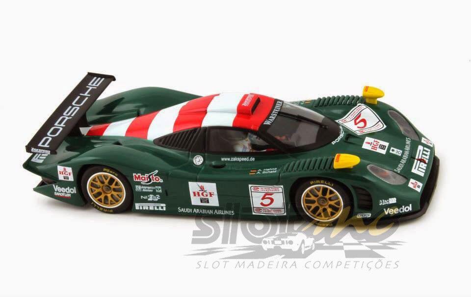 Slot  CA23c 911 GT1 EVO 98 n.5 FIA GT Donington Park 1998 1 32  NEW