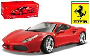 BURAGO-16905-FERRARI-488-GTB-diecast-model-Sports-car-Signature-Series-1-18th