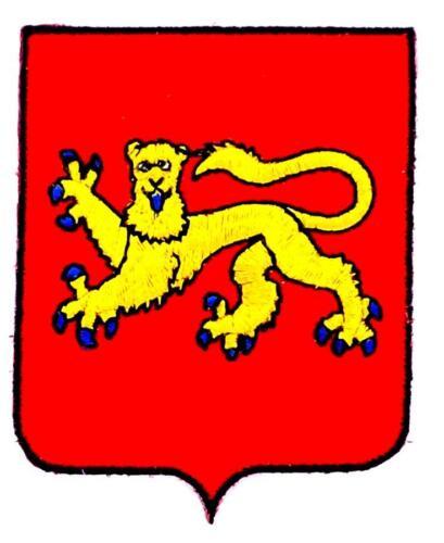 Patch ecusson brodé AQUITAINE  Blason armoirie drapeau region heraldique
