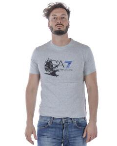 Ea7 Maglietta T Armani Uomo Emporio Shirt 3zpt46pjm9z Sweatshirt Grigio 3904 q7nwgvZ