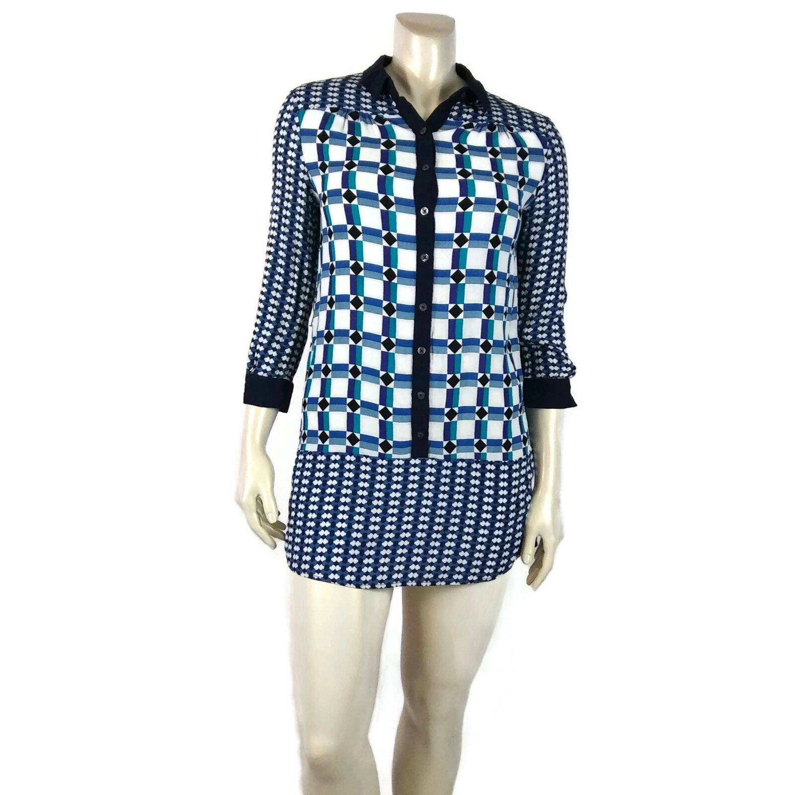 209687da583d MAEVE Multicolor Button Up Dress 6 Anthropologie ocebyu5266-Dresses ...