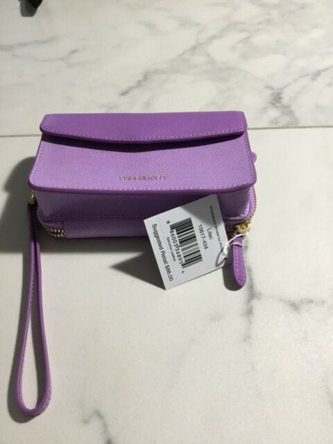 NWT Vera Bradley Leather Smartphone wristlet For IPhone 6 In lilac