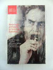 ANTOLOGIA PERSONALE DI VITTORIO GASSMAN Libro + 4 CD Collezione Biografia