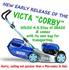 CORBY LAWNMOWER DECAL 80MM BY 80MM GLOSS LAMINATED