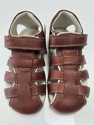 Capataz Pelágico colgar  Garvalin Biomecanics 112163 Brown Leather Sandals Size UK 12 EU 31 | eBay