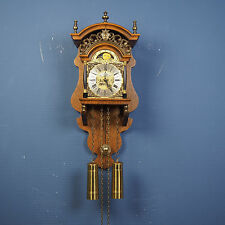 WUBA - Warmink Dutch Sallander weight driven wall clock bell chime