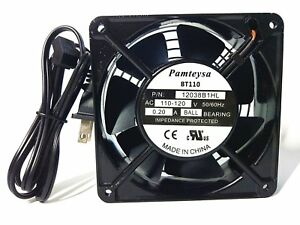 120mm by120mmby 38mm muffin fan 1238, Muffin Cooling Fan,115V 120V AC high speed