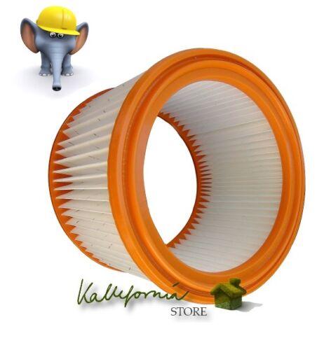 Lavabile PES Filtro per Parkside PNTS 1300 d3 FILTRO A PIEGHE FILTRO CARTUCCIA