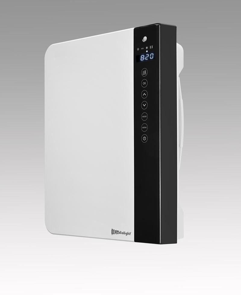 Schnellheizer DTH mit Präsenzerkennung und Touchscreensteuerung Technotherm