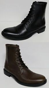 Unlisted By Kenneth Cole Blind Turn Men S Ankle Boots Lace