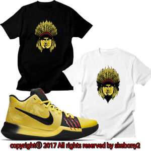 e7125b14cbc89b NEW KOBE BRYANT WITH NIKE KYRIE 3 BRUCE LEE MATCHING CUSTOM T SHIRT ...