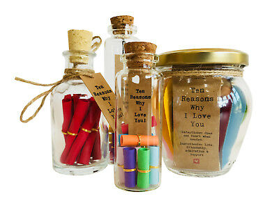 10 Reasons Why I Love You To The Person I Love Little Jar Of Big Ideas Ebay