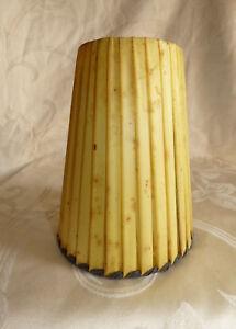 Détails sur Ancien Abat Jour de Lampe Vintage Années 1965060's Lampadaire