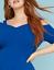 Lane-Bryant-Strappy-Shoulder-Fit-amp-Flare-Dress-Plus-22-24-26-28-True-Blue-3x-4x thumbnail 2