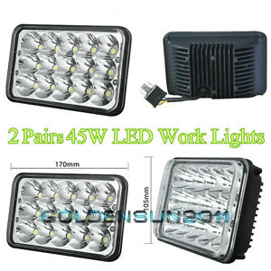4pcs led headlights for kenworth t800 t400 t600 w900b w900l classic rh ebay com Kenworth T680 Wiring -Diagram Eaton Kenworth T800 Wiring Diagram Symbols
