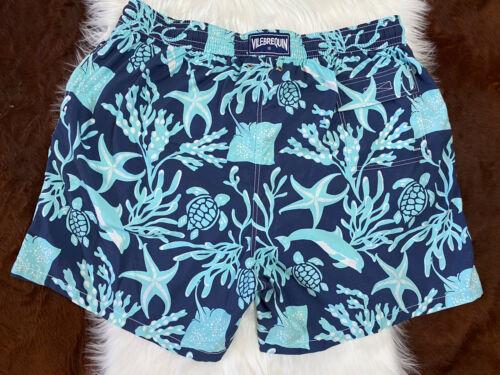 Vilebrequin Men's Swim Trunks Blue Size 4XL