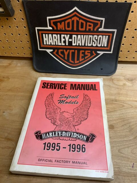 U0026quot Service Manual Softail Models 1995