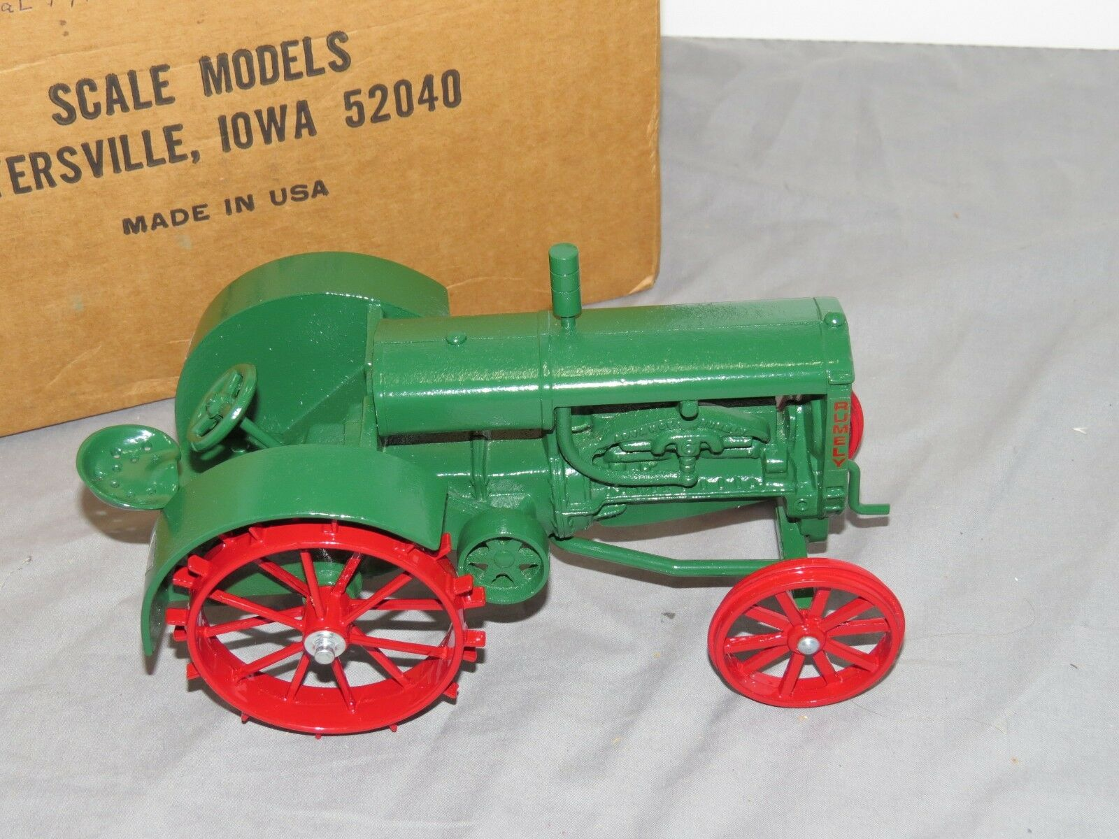 Vintage Advance RUMELY Model 6 Toy Tractor 1 16 Scale Models Original NIB RARE