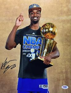 Harrison Barnes Signed Golden State Warriors 11x14 Photo PSA AC59349