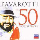 50 Greatest Tracks 2 Disc Set Luciano Pavarotti 2013 CD
