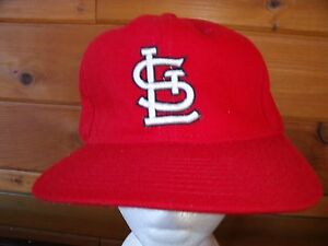 finest selection 7a003 5850f Image is loading MLB-ST-LOUIS-CARDINALS-NEW-ERA-OLD-Baseball-