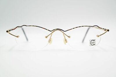 Candido Vintage Carat Fashion 4025 47 [] 22 140 Oro Colorato Semi Bordo Occhiali Eyeglasses Nos-mostra Il Titolo Originale