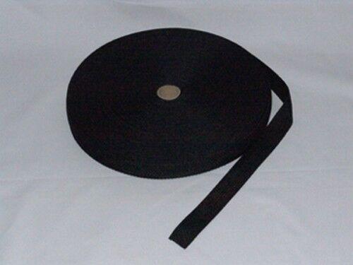 sangle polypropylène larg 30 mm NOIR  bobine de 50 Mètres