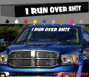Funny decals for lifted trucks