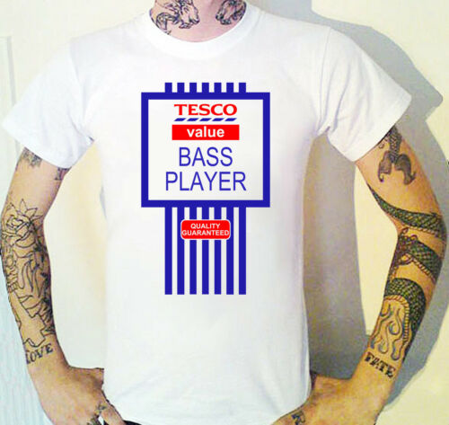 Funny Bass Player T-Shirt Bassist Musician Band