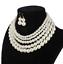 Women-Bohemian-Choker-Chunk-Crystal-Statement-Necklace-Wedding-Jewelry-Set thumbnail 61