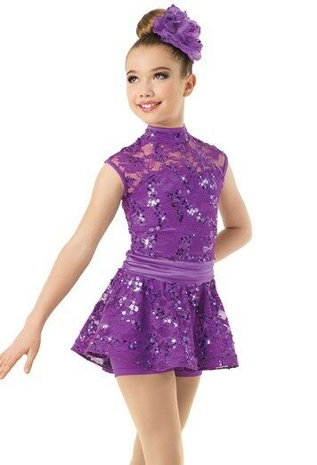 Ice skating dress Competition Figure Skating Twirling Costume DANCE  BATON PURPLE  100% brand new with original quality