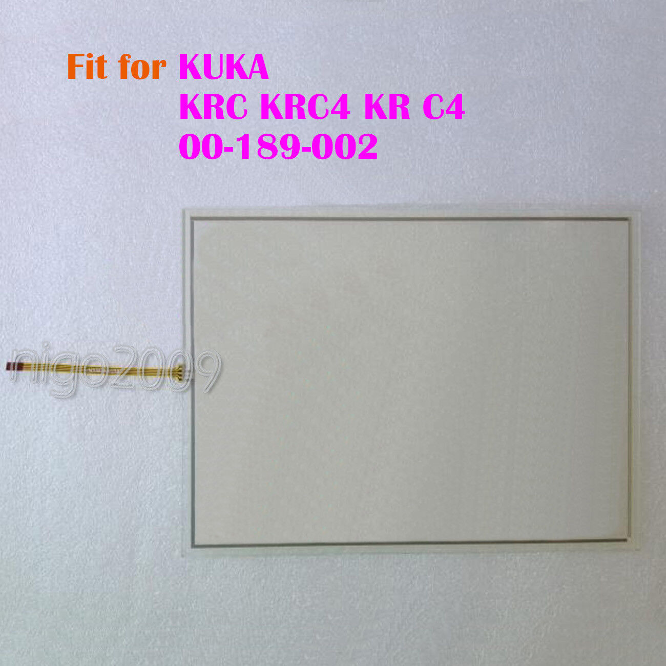New for KUKA KRC KRC4 KR C4 00-189-002 Touch Screen Glass Touch Panel