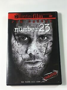 The-Number-23-DVD-2007-Unrated-Theatrical-Versions-Jim-Carrey