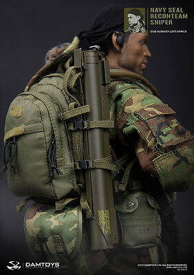 "DAM Toys 1/6 Scale 12"" US Navy Seal ReconTeam Sniper Action Figure 93014"