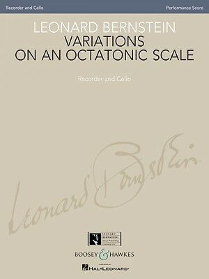 Wind & Woodwinds Instruction Books, Cds & Video Dynamic Leonard Bernstein Variations On An Octatonic Scale Recorder And Cello 048021179 Sale Price