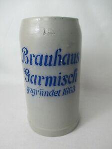 Brauerei Bierkrug Brauhaus Garmisch gegründet 1663 alt