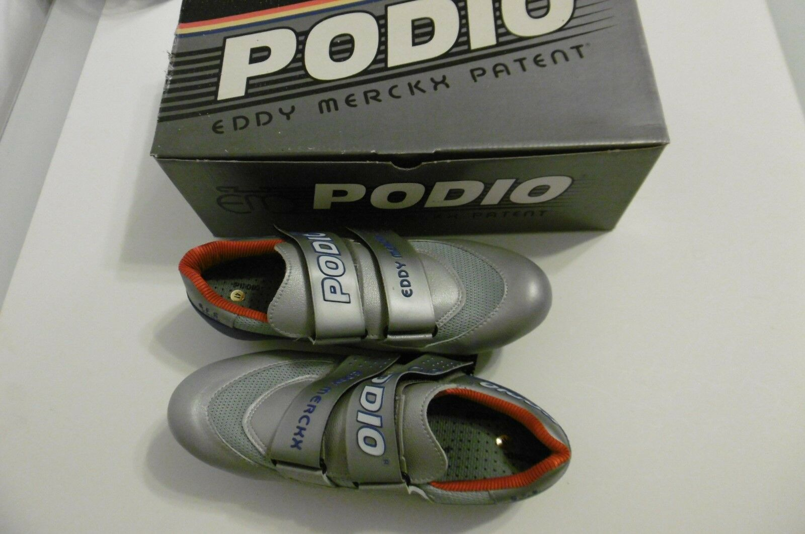 Eddy Merckx Patent Podio S.F.S.2000 schuhe Größe 41 With schuhe Cleats New In Box