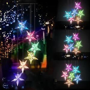 Color-Changing-Star-Wind-Chime-Spiral-Spinner-Wind-Mobile-Wind-Bell-Solar-Lights