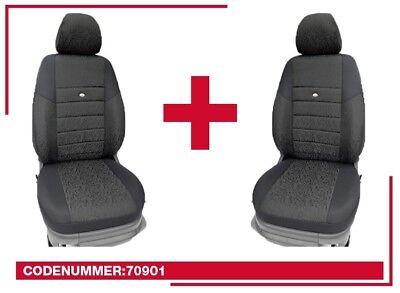Maß VW Passat 3C B6 & B7 Schonbezüge Sitzbezüge Fahrer & Beifahrer  70901