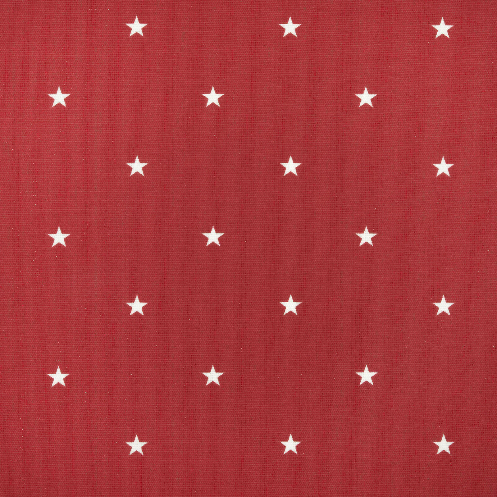 Red and White Star PVC, Wipeclean, Oilcloth Tablecloth